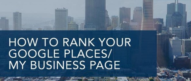 Optimize Google Places Business Page